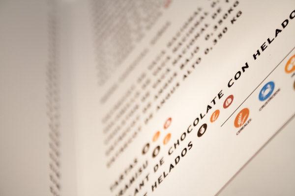 Carta Restaurante Rígida